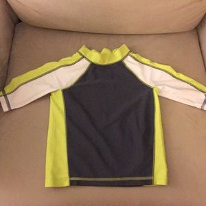 Toddler rashguard.